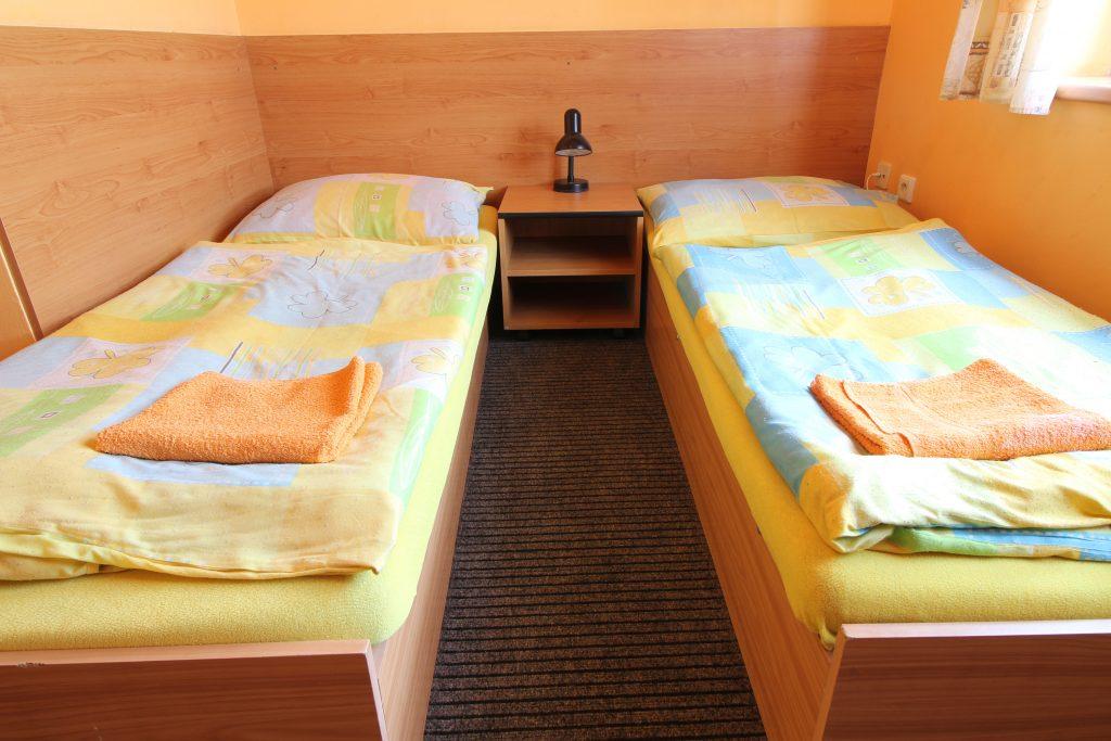 Fotka dvojlůžkového pokoje